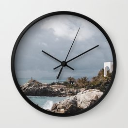 PHOTOGRAPHY - Windy day Wall Clock