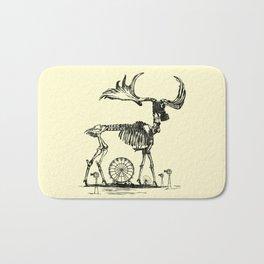 Gas Mask Deer Bath Mat