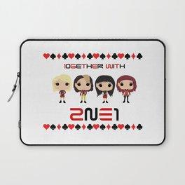 10GETHER WITH 2NE1 - Group Chibi Version Laptop Sleeve