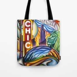 Chicago Montage Tote Bag