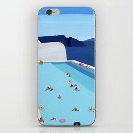 Coastal pool iPhone Skin