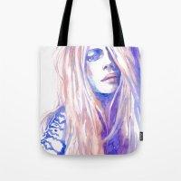 cara Tote Bags featuring Cara by Ava Carmen