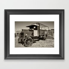 AEC War truck Framed Art Print
