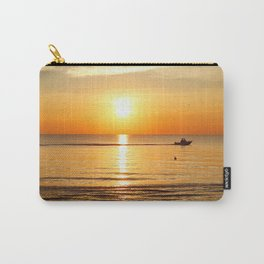 Yellow Sunset Ocean Carry-All Pouch