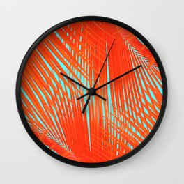 Flame Frenzy Wall Clock