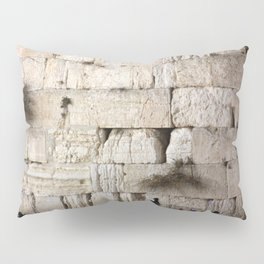 Jerusalem - The Western Wall - Kotel #4 Pillow Sham
