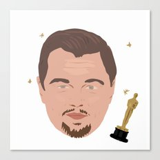 Leo Fan Shirt Canvas Print