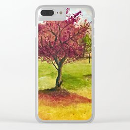 A little tree Clear iPhone Case