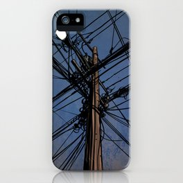 wires 02 iPhone Case