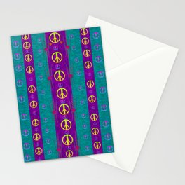 Peace be with us in this wonderful year in true love Stationery Cards