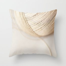 Ball of Twine Throw Pillow