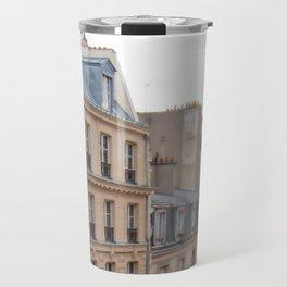 Paris Houses Travel Mug