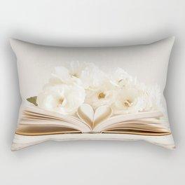 Well Read Romance Rectangular Pillow