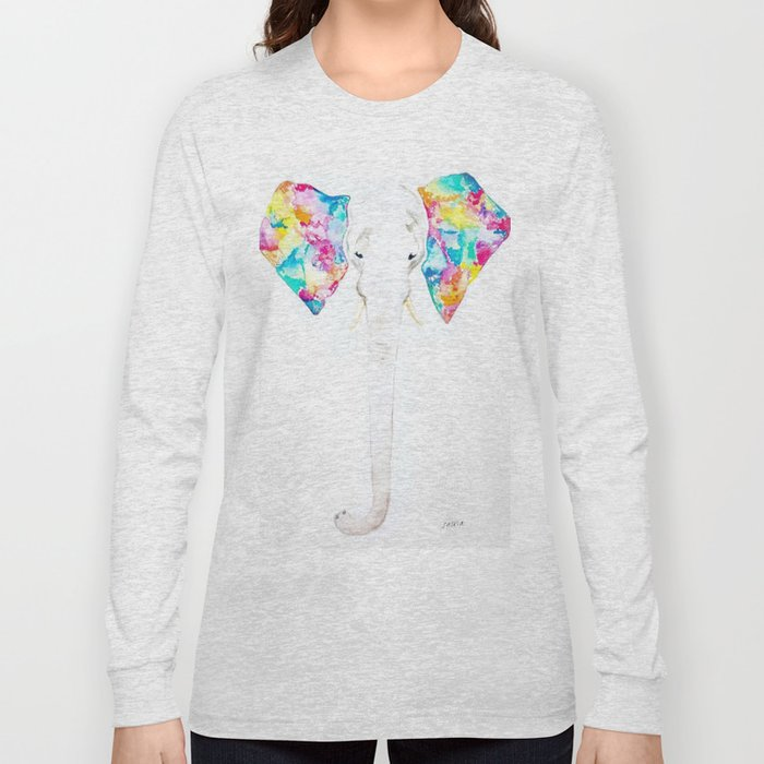 Pastel Ears Long Sleeve T-shirt