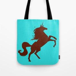 unity university unicorns (brown) Tote Bag