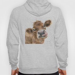 Face baby cattle Hoody