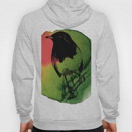 Watercolor Robin 2 Hoody