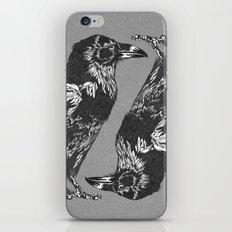 Raven Grey iPhone & iPod Skin