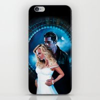 true blood iPhone & iPod Skins featuring True Blood - Sookie & Eric by Jaime Gervais