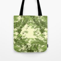 duvet cover Tote Bags featuring Duvet Cover 408D by Michael Mackin