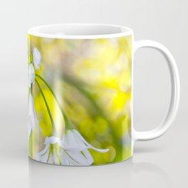 White woodland flora. Coffee Mug