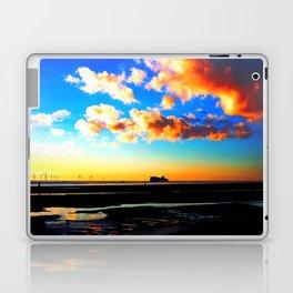 Belfast Ferry at Sunset Laptop & iPad Skin