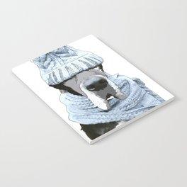 Great Dane Winter is Here Notebook