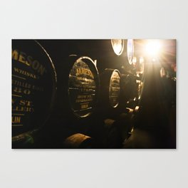 Jameson Irish Whiskey Canvas Print