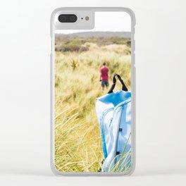 Exploring the Sandunes Clear iPhone Case