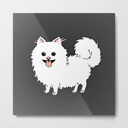 Pomeranian Metal Print