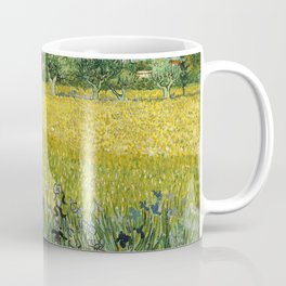 Field with Flowers near Arles by Vincent van Gogh Coffee Mug