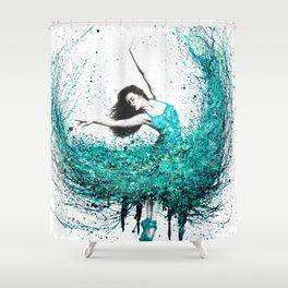 Jade Ballet Shower Curtain