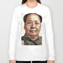BEHIND THE FACE Mao | China Capitalism Long Sleeve T-shirt