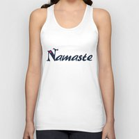 namaste Tank Tops featuring Namaste by Stay Inspired