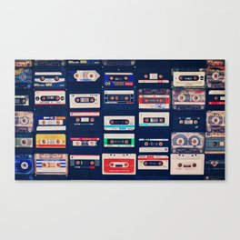 Lost Tapes. Canvas Print