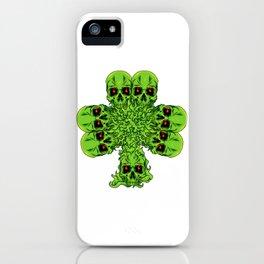 Skull Cloverleaf - St. Patrick's Day iPhone Case