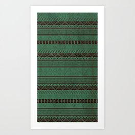Harry Tribal Print Potter Art Print