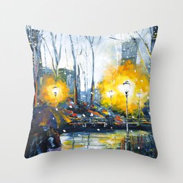Solstice in the City, vol.1 Throw Pillow