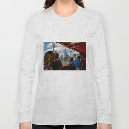 NYC from The Ferry Long Sleeve T-shirt