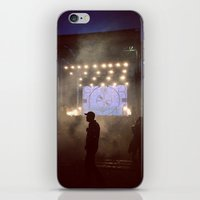 concert iPhone & iPod Skins featuring concert by petervirth photography