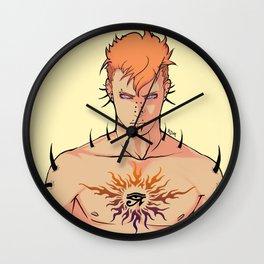 Tattooed Pein Wall Clock