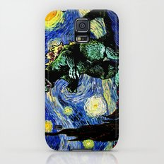 Godzilla versus Starry Night Slim Case Galaxy S5