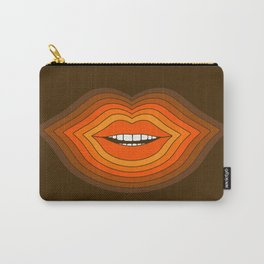 Pop Lips - Golden Carry-All Pouch