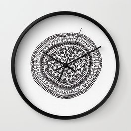 Cross Section Study Wall Clock