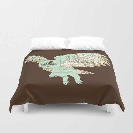 World Traveler Duvet Cover