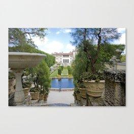 Vizcaya Museum & Gardens Canvas Print