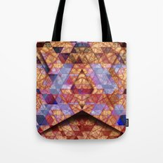 Triangles at Night Tote Bag