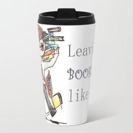 Leaving a bookshop like... Travel Mug