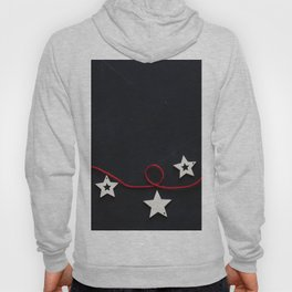 Stars on a Red Rope (Color) Hoody