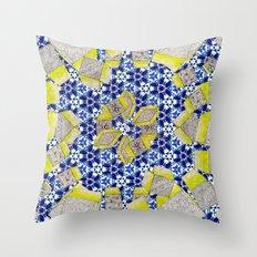Porcelain 8.5 Million Stories Throw Pillow